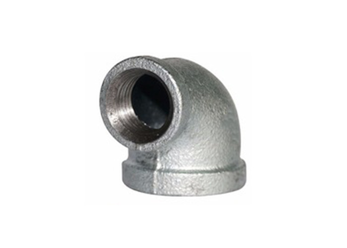 DIN Standard Malleable Iron Pipe Fittings Street 90 Elbow Female Smooth Surface