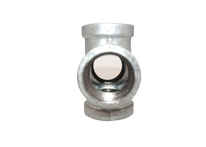 Banded Equal Black Natural Gas Pipe Fittings , Metal Pipe Accessories 1.6Mpa